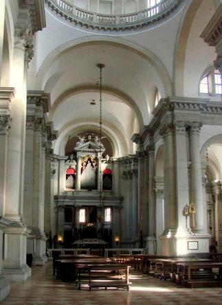 San Giorgio Maggiore sisätilat