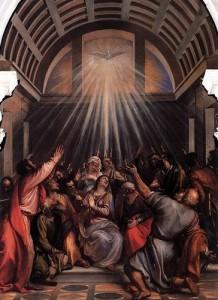 Titian: Pyhän hengen laskeutuminen