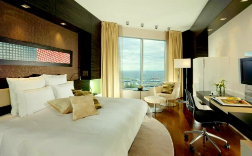 Executive King Suite huone Swissotel Tallinna