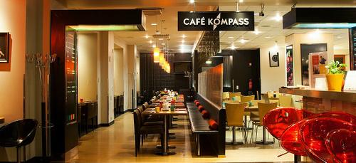 Cafe Kompass Park Inn by Radisson Central Tallinna