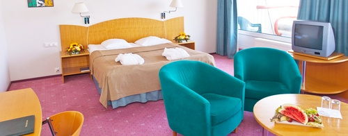 Double de Luxe huone Pirita TOP Spa hotelli Tallinna