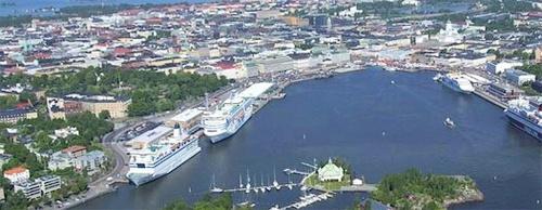 Eteläsatama Olympiaterminaali Silja Line Helsinki Tukholma