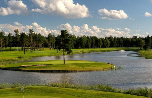 Golfkenttä Virossa