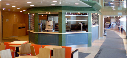 Hamburger Bar Presto Tallink Superstar