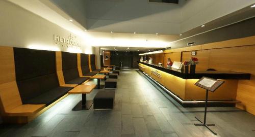 Hotel Metropol vastaanotto Tallinna
