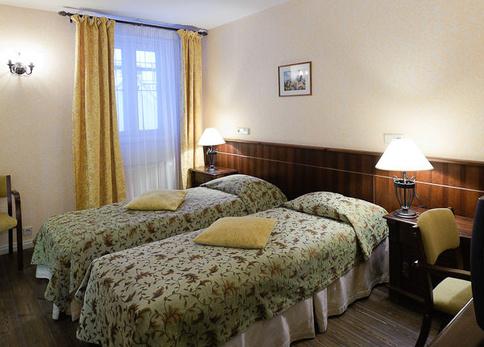 Economy kahden hengen huone Hotel Taanilinna Tallinna