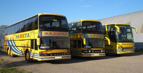 Sareta bussi Tallinna - Kuressaare