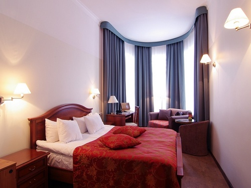 Superior double huone Santa Barbara Hotell Tallinna
