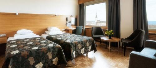 Superior Twin huone Viru hotelli Tallinna