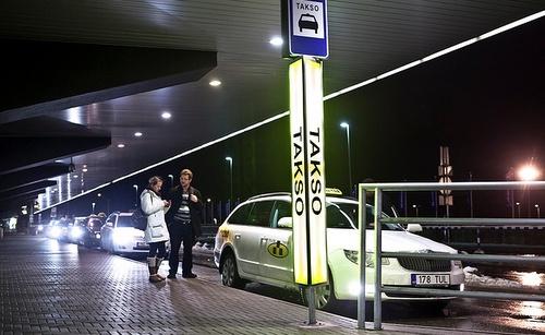 Taksi Tallinnan lentokenttä