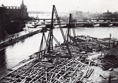 1898 Ruotsin valtiopäivätalon rakentaminen Tukholmaan