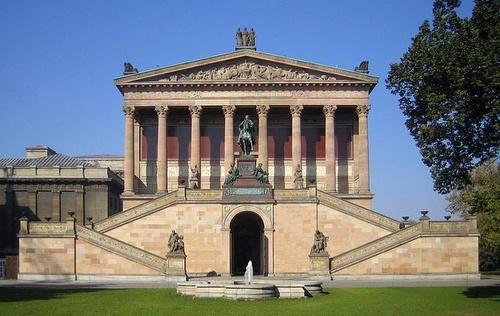 Alte Nationalgalerie Museumsinsel Berliini