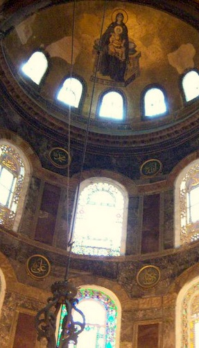 Apsis Hagia Sofia Istanbul