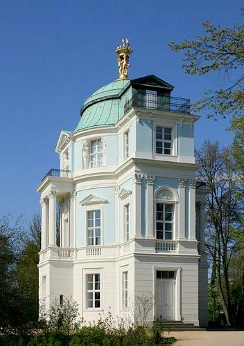 Belvedere teehuone Charlottenburgin linna Berliini