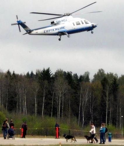 Copterline Helsinki Tallinna helikopteri