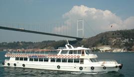 Dentur Avrasya Bosporinsalmen risteilylautta Istanbul