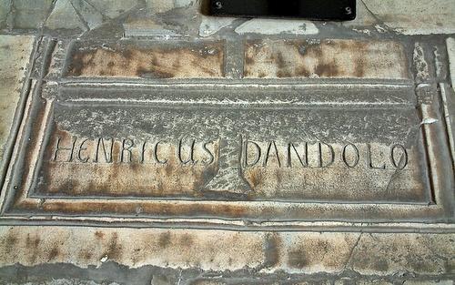 Doge Enrico Dandolon hautapaikka Hagia Sofia Istanbul