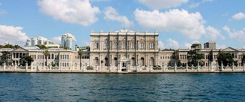 Dolmabahcen palatsi Istanbul