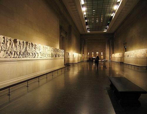 Elginin marmorit British Museum Lontoo