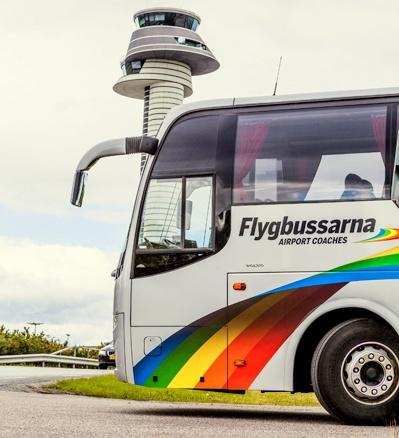 Flygbussarna lentokenttäbussi Arlanda Tukholma