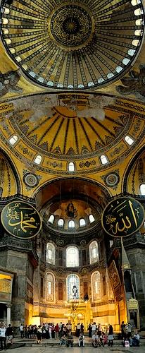 Hagia Sofia sisältä Istanbul