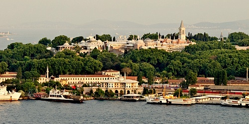Istanbul Topkapi palatsi