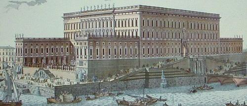 Jean Eric Rehn 1770 Tessinin tukholman kuninkaanlinna