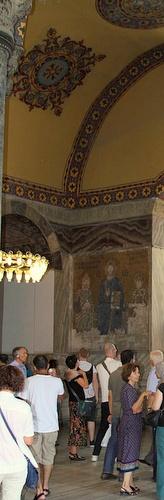 Keisarinna Zoen mosaiikit Hagia Sofia Istanbul