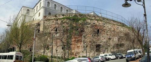 Konstantinopolin hippodromin Sphendone Istanbul