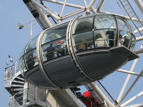London Eye kapsuli Lontoo