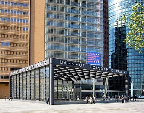 Potsdamer Platz asema Berliini