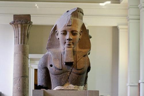 Ramesses II patsas British Museum