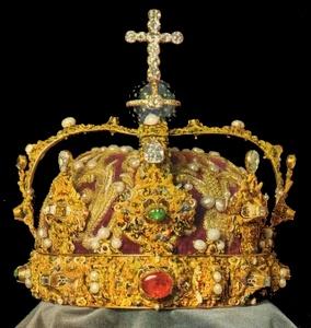 Ruotsin kuninkaankruunu Tukholman kuninkaanlinna