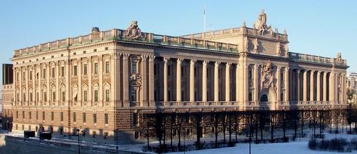 Ruotsin valtiopäivätalo Tukholma