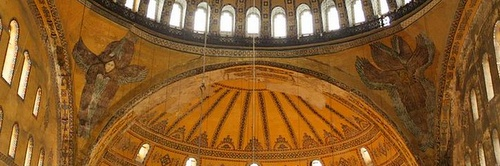 serafi-enkelihahmot Hagia Sofia Istanbul