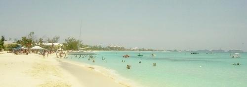 Seven Mile Beach Grand Cayman Caymansaaret