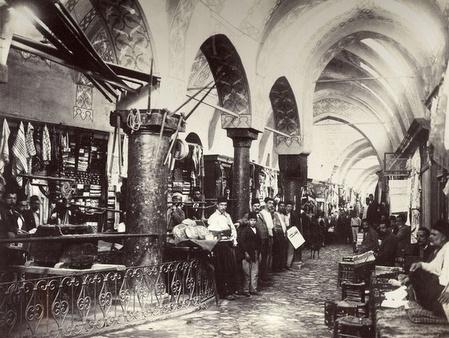 Suuri basaari Istanbul 1890-luku
