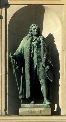 Nicodemus Tessin nuorempi patsas Tukholman kuninkaanlinna