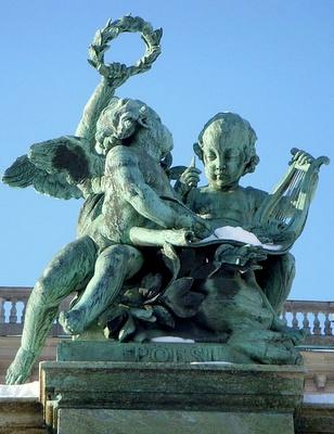 Poesi - runous patsas Tukholman kuninkaanlinna