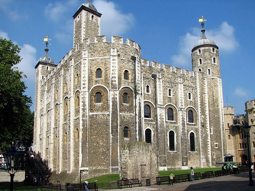 White Tower Tower of London Lontoo