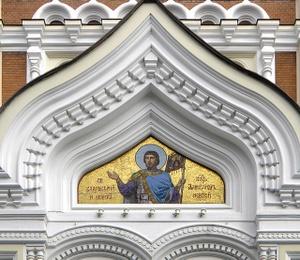 Aleksanteri Nevskin katedraali mosaiikki Tallinna