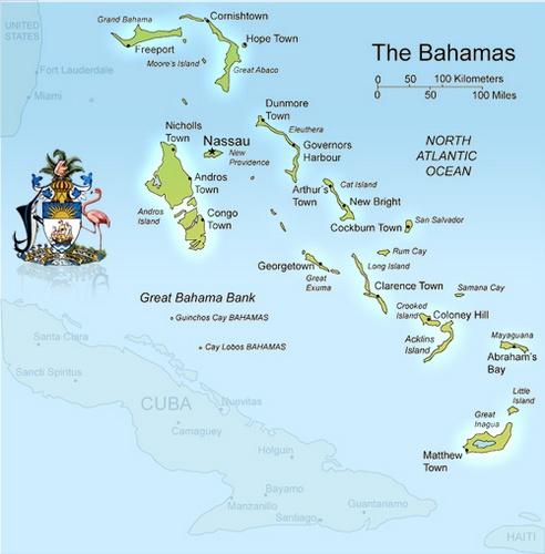 Bahaman kartta