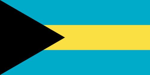 Bahamasaarten lippu