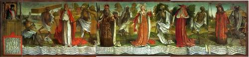 Danse Macabre Bernt Notke Pyhän Nikolaoksen kirkko Tallinna