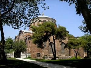 Hagia Irene Topkapi-palatsi Istanbul