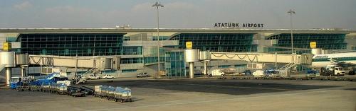 Istanbulin Ataturkin lentokentän terminaali