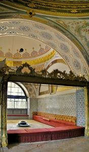 Keisarillisen neuvoston halli Topkapin palatsi Istanbul