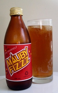 Mauby Fizzz juoma Antigua ja Barbuda