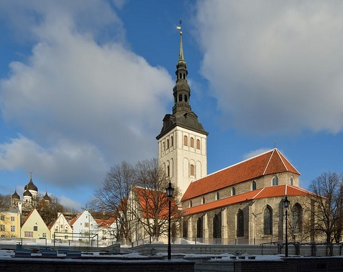 Pyhän Nikolaoksen kirkko Tallinna