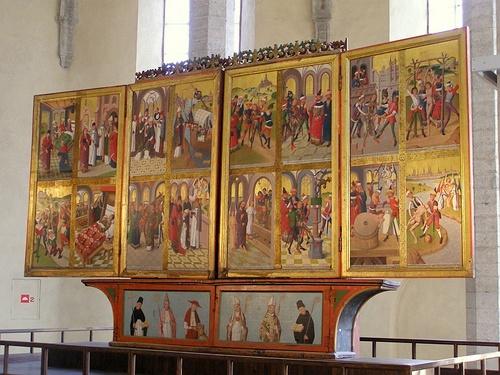 Pyhän Nikolaoksen kirkon pääalttari Tallinna